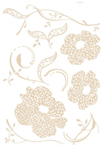 Sticker decorativ 17715 Amelie
