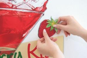 Sticker decorativ 17711 Strawberry Kiss