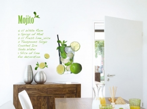 Sticker decorativ 17708 Mojito
