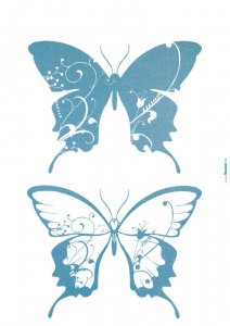 Sticker decorativ 17017 Farfalle