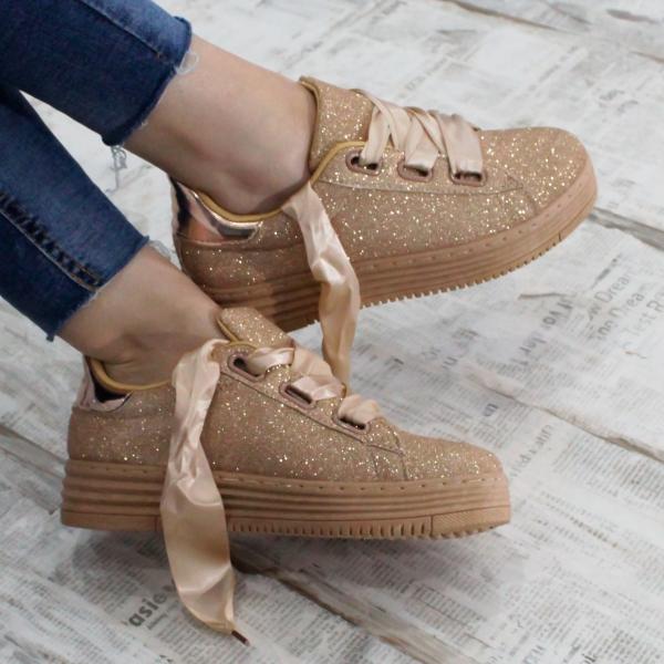Adidasi Mix Feel Goldy