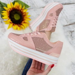 Adidasi Mix Feel Pinky