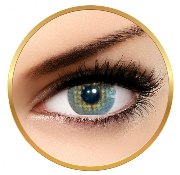 Solotica Hidrocor Quartzo - Grey Contact Lenses yearly- 365 wears (2 lenses/box)