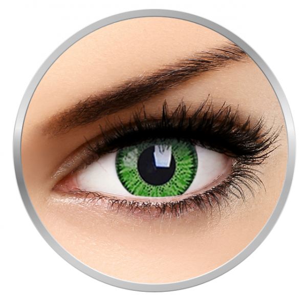 ZenVu Bright Green - Green Contact Lenses quarterly - 90 wears (2 lenses / box)