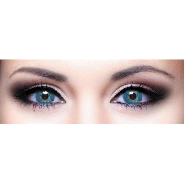 Alcon   Ciba Vision Freshlook Dimensions Pacific Blue - monthly blue  colored contact lenses - 30 wears (2 lenses ... 2b95b439c43ac
