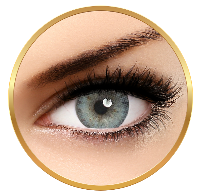 Adore Pearl Blue - Quarterly Colored Contact Lenses - 90 wears (2 lenses / box)