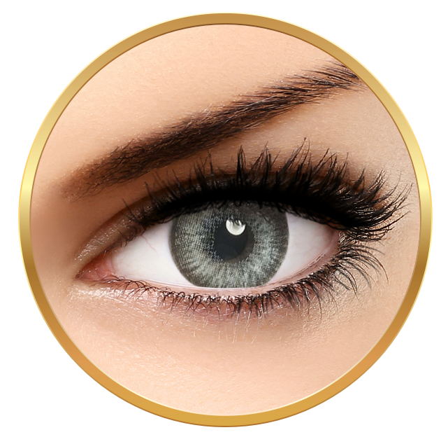 Adore Pearl White - Quarterly Colored Contact Lenses - 90 wears (2 lenses / box)