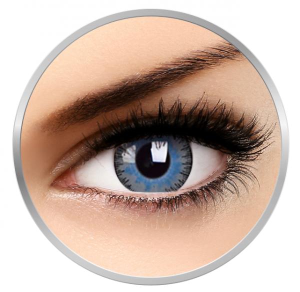 ZenVu Blended Grey/Blue - Grey/Blue Contact Lenses quarterly - 90 wears (2 lenses / box)