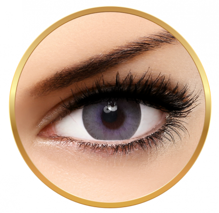 Bella Elite Collection Lavender Grey - Lavender Grey Contact Lenses Quarterly - 90 wears (2 lenses/box)