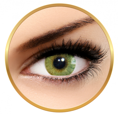Solotica Hidrocor Ambar Chihlimbar - Colored Contact Lenses Monthly - 30 wears (2 lenses/box)